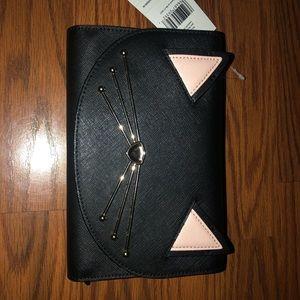Kate spade cat wallet